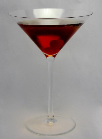 Perfect Manhattan made of Maker's MArk